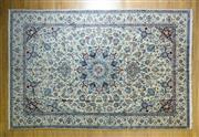 Sale 8372C - Lot 15 - A Super Fine Persian Nain Silk Inlaid, 390 x 265cm