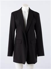 Sale 8760F - Lot 160 - A never-worn Sportmax black virgin wool-blend blazer/jacket, made in Italy, size 46