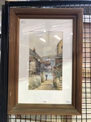 Sale 8811 - Lot 2016 - W Sands - St Ives, watercolour, 50 x 34.5cm (frame), signed lower right