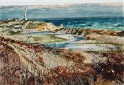 Sale 8955A - Lot 5083 - Charles Bush (1918 - 1989) - After the Fire - Aireys Inlet 36 x 53 cm (frame: 56 x 72 x 2 cm)