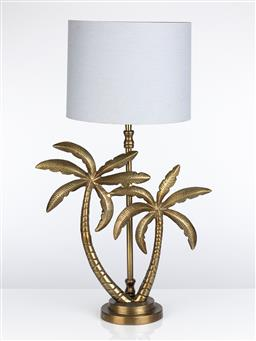 Sale 9245T - Lot 40 - A palm tree form lamp table, height 85cm