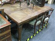 Sale 7972A - Lot 1022 - French Style Timber Extension Dining Table