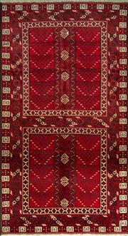 Sale 8335C - Lot 49 - Approx. 60 Years Old Persian Turkman 260cm x 140cm