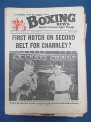 Sale 8419A - Lot 72 - Boxing News - a box of Boxing News, mid 1960s