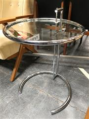 Sale 8859 - Lot 1025 - Eileen Grey Adjustable Side Table