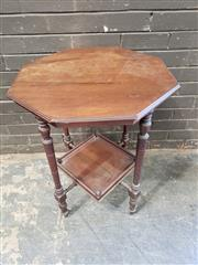 Sale 8962 - Lot 1087 - Octagonal Top Occasional Table (H:74 x W:60.5cm)