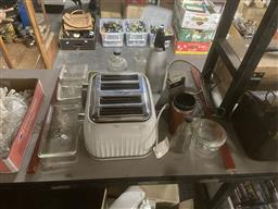 Sale 9101 - Lot 2168 - Collection of Vintage Kitchenwares & Glasswares incl Toaster
