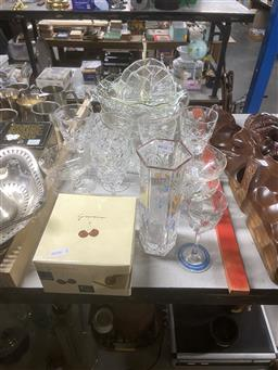 Sale 9101 - Lot 2177 - Collection of glass and crystal wares