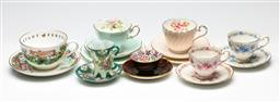 Sale 9209 - Lot 27 - A suite of duos and trios incl. Worcester