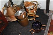 Sale 8226 - Lot 80 - Copper Wares incl. Saucepans
