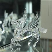 Sale 8336 - Lot 54 - Swarovski Crystal 1998 Fabulous Creatures 'Pegasus' In Original Box