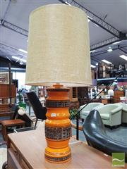 Sale 8435 - Lot 1074 - Australian Made Swiss Pottery Table Lamp