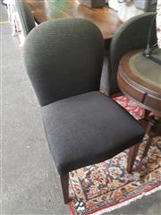 Sale 8648C - Lot 1031 - Set of Eight Balloon Back Dining Chairs