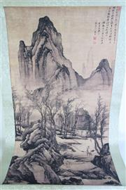 Sale 8909S - Lot 616 - A mountain And river Themed Scroll