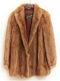 Sale 9080H - Lot 74 - A Stranded Mink Coat by Prince, Size Small