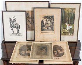Sale 9195H - Lot 89 - A group of various prints
