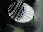 Sale 7937A - Lot 1114 - Saucer Chair in Black & White