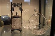 Sale 8112 - Lot 89 - Crystal Cut Decanter with Other Crystal Wares incl Bowls