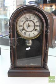 Sale 8217 - Lot 28 - Vintage Timber Clock