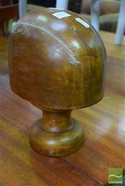 Sale 8532 - Lot 1451 - Timber Hat Block
