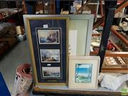 Sale 8609 - Lot 2091 - Group of Prints incl. Lighthouses, Beach Scenes, etc