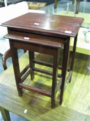 Sale 7937A - Lot 1119 - Nest of 2 Tables with Another