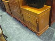 Sale 7937A - Lot 1116 - Pair of 3 Drawer Bedside Cabinets