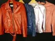 Sale 7982B - Lot 137 - Four assorted leather jackets