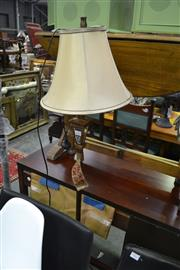 Sale 8093 - Lot 1063 - Gold Coloured Standard Lamp