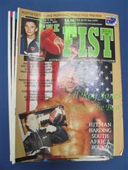 Sale 8450S - Lot 761 - The Fist - a box of the Australian boxing magazine, 1990s