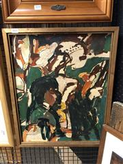 Sale 8856 - Lot 2041 - Artist Unknown - Abstract 49 x 38 cm