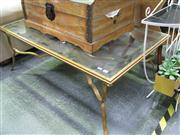 Sale 7972A - Lot 1041 - Metal and Glass Coffee Table