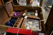 Sale 8362 - Lot 2320 - 4 Dice Boxes Full Of Polished Gems