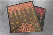 Sale 8419 - Lot 117 - Laotian Textile Decorated with Stylised Floral Side Borders