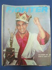 Sale 8419A - Lot 75 - Fighter! - a box of the Australian boxing magazine, all 1970s-1980s