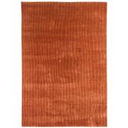 Sale 8850C - Lot 49 - An Indian  Rustic Stripes Carpet made from Hand spun Wool & Silk, 282x193cm