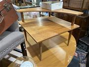 Sale 8876 - Lot 1084 - Timber Corner Two Tier Sidetable