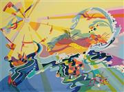 Sale 8961A - Lot 5081 - Annie Georgeson - Coastal Kaleidoscope 56 x 76 cm (sheet)