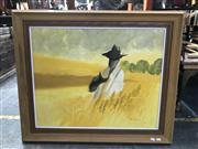 Sale 9036 - Lot 2053 - Ron Stannard, The Crop is Good, oil on canvas board, 76 x 92cm (frame), signed lower right
