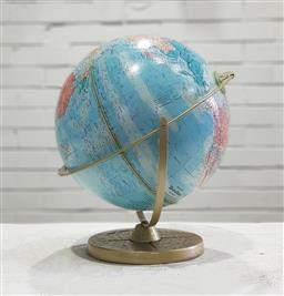 Sale 9121 - Lot 1049 - Topographical world globe on stand (h:38cm)