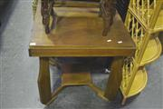 Sale 8099 - Lot 893 - Rustic Occasional table