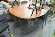 Sale 8406 - Lot 1132A - Reproduction Fritz Hansen Super-Ellipse Dining Table
