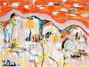 Sale 8918A - Lot 5027 - Yosi Messiah (1964 - ) - Colourful Day 75 x 100 cm