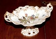 Sale 8127A - Lot 65 - A Late C19th Twin Handled Fruit Tray,