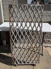 Sale 8402B - Lot 64 - Early C19th French Cast Iron Butchers Grill