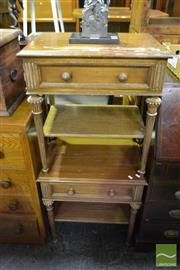 Sale 8499 - Lot 1618 - Pair of Timber Bedsides