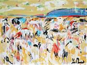 Sale 9062A - Lot 5025 - Yosi Messiah (1964 - ) - Mountain Side 75 x 100 cm