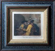 Sale 8800 - Lot 24 - After E Kurzbuaer, Engraved by E Forberg - The Wine Taster