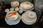 Sale 8379 - Lot 191 - J&G Meakin Dinner Wares with a Noritake Lobster Themed Salad Bowl
