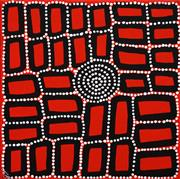 Sale 8611A - Lot 5008 - Walala Tjapaltjarri (1960 - ) - Tingari 40 x 40cm (stretched & ready to hang)